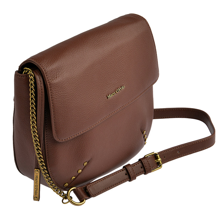 Marc O'Polo Umhängetasche Bag S in Dark Cognac 2