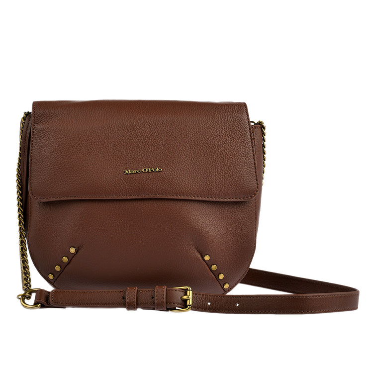 Marc O'Polo Umhängetasche Bag S in Dark Cognac 3