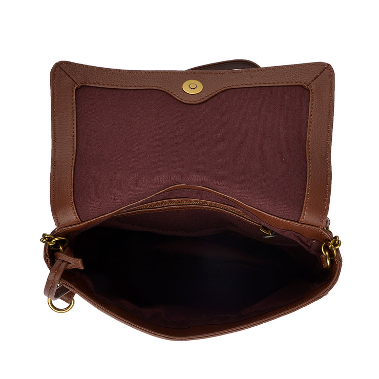 Marc O'Polo Umhängetasche Bag S in Dark Cognac 4