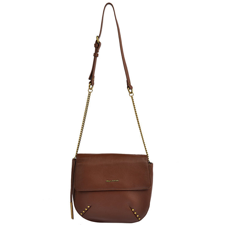 Marc O'Polo Umhängetasche Bag S in Dark Cognac 6