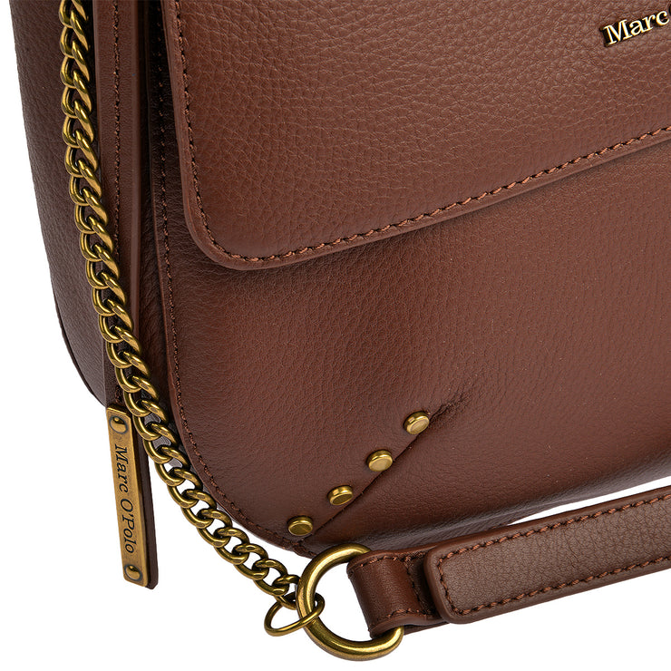 Marc O'Polo Umhängetasche Bag S in Dark Cognac 8
