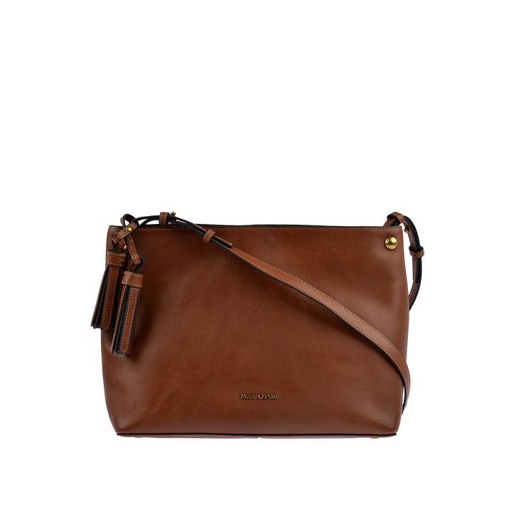 Marc O'Polo Hobo Bag Ricarda in Cognac 1