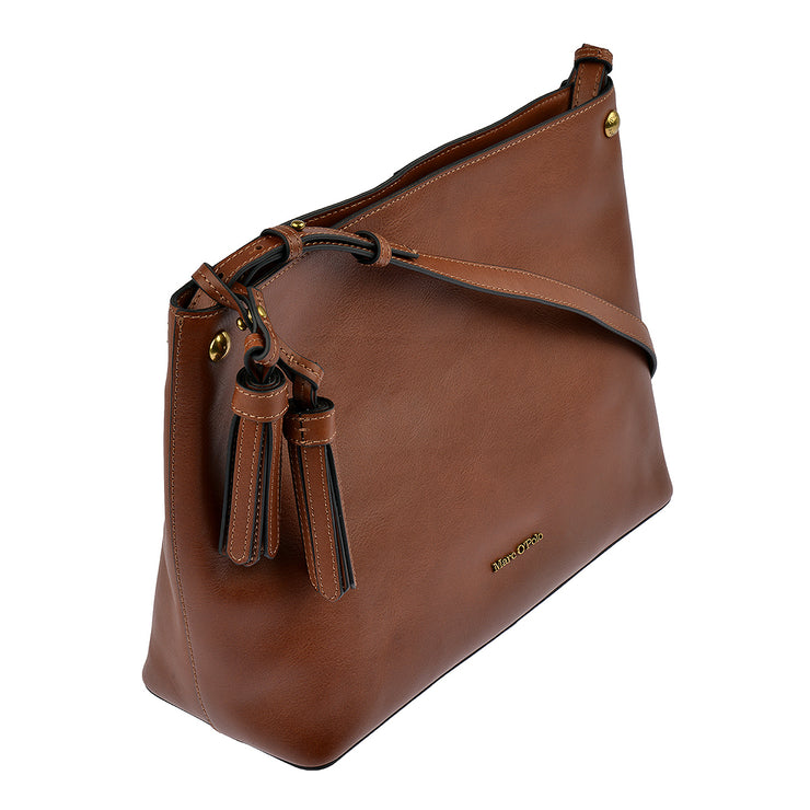 Marc O'Polo Hobo Bag Ricarda in Cognac 2