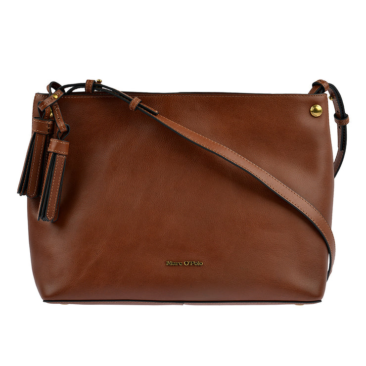 Marc O'Polo Hobo Bag Ricarda in Cognac 3