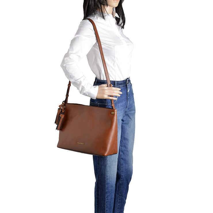 Marc O'Polo Hobo Bag Ricarda in Cognac 5