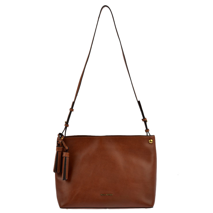 Marc O'Polo Hobo Bag Ricarda in Cognac 6