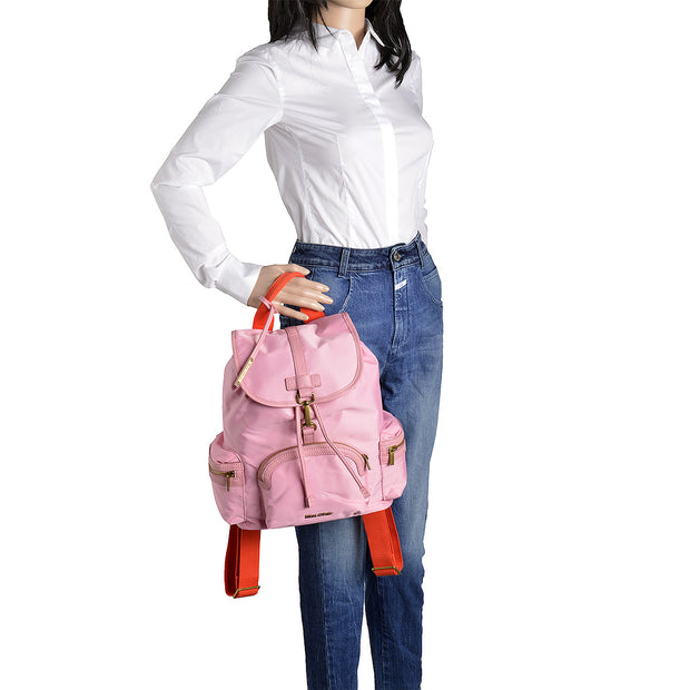 Marc O'Polo Nylon Rucksack in Rosa 5