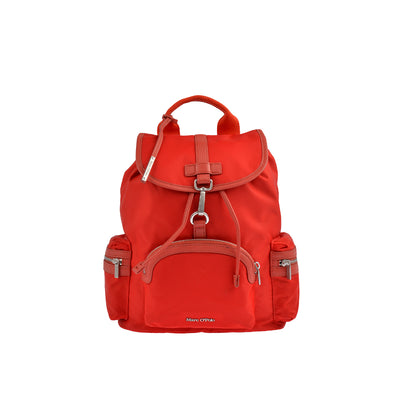 Marc O'Polo Nylon Rucksack in Rot