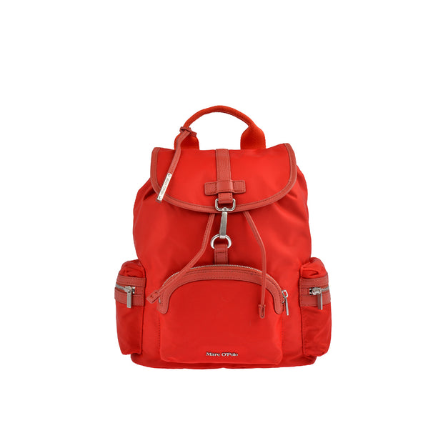 Marc O'Polo Nylon Rucksack in Rot 1