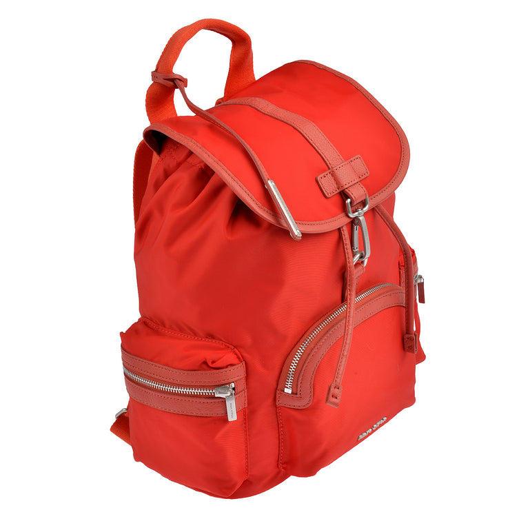 Marc O'Polo Nylon Rucksack in Rot 2