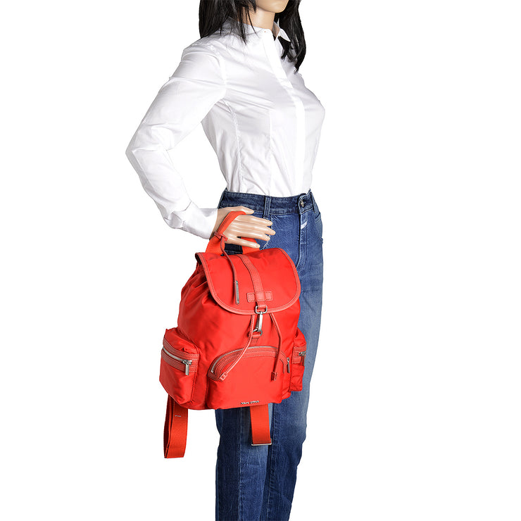 Marc O'Polo Nylon Rucksack in Rot 5