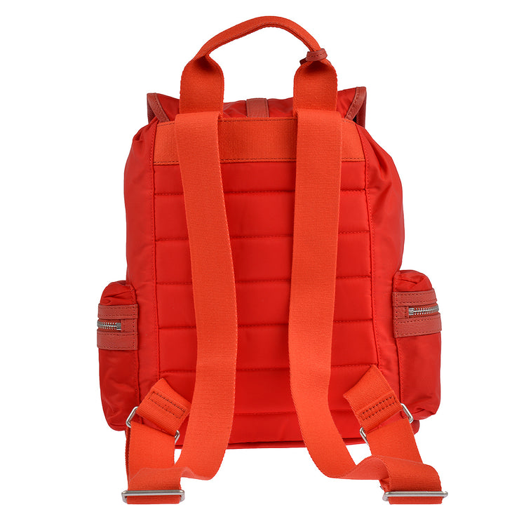 Marc O'Polo Nylon Rucksack in Rot 6