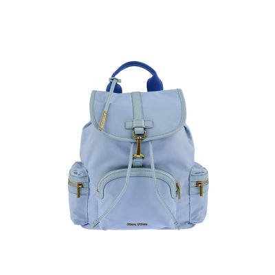 Marc O'Polo Nylon Rucksack in Sky Blue