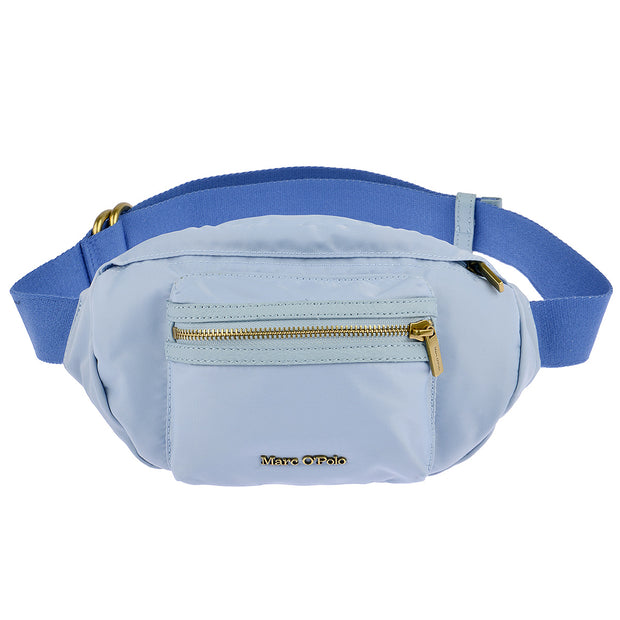 Marc O'Polo Nylon Gürteltasche in Sky Blue