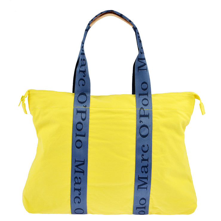 Marc O'Polo Beach Shopper in Gelb 3