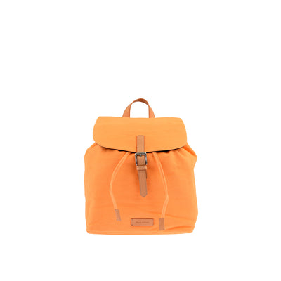 Marc O'Polo Baumwoll Rucksack in Orange 1