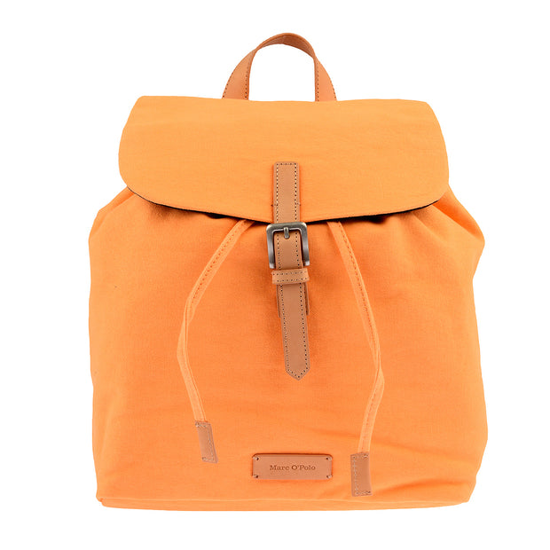 Marc O'Polo Baumwoll Rucksack in Orange 3