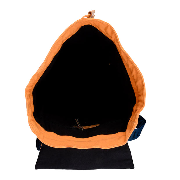 Marc O'Polo Baumwoll Rucksack in Orange 4
