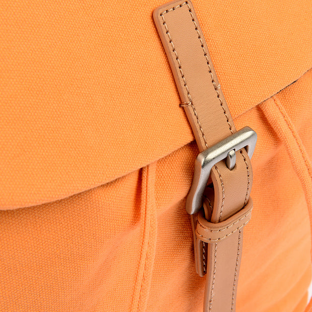 Marc O'Polo Baumwoll Rucksack in Orange 7