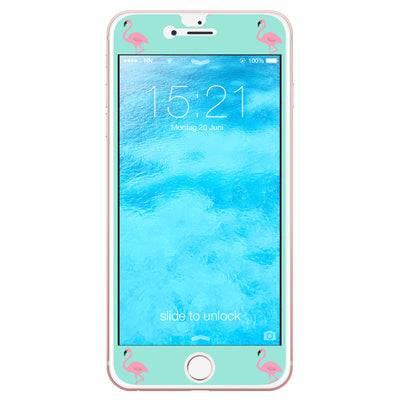 neonNeid Handyfolie iPhone 6/6s Flamingo in Mint