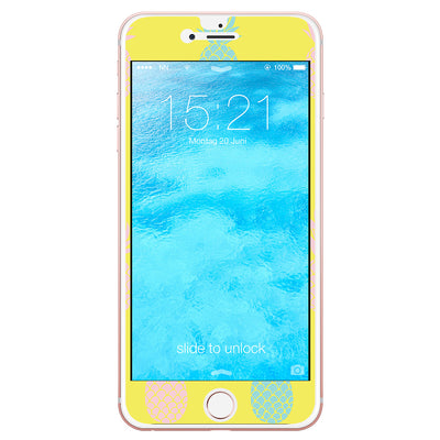 neonNeid Handyfolie iPhone 6/6s Ananas in Gelb