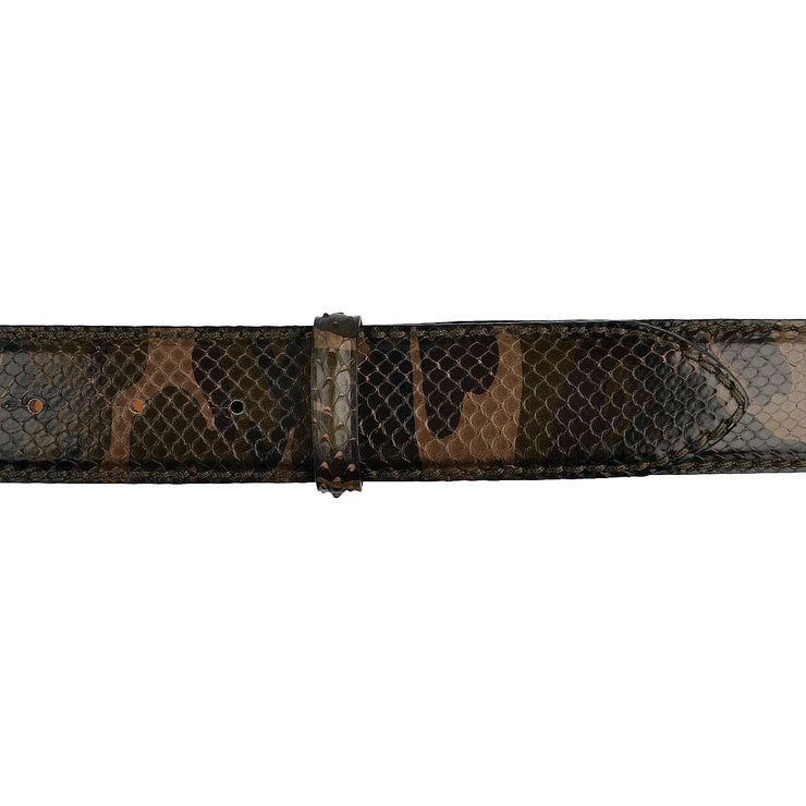 Reptile's House Pythongürtel Camouflage Militare 4cm 3