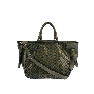 Reptile's House Handtasche MONEGLIA in Alloro 1