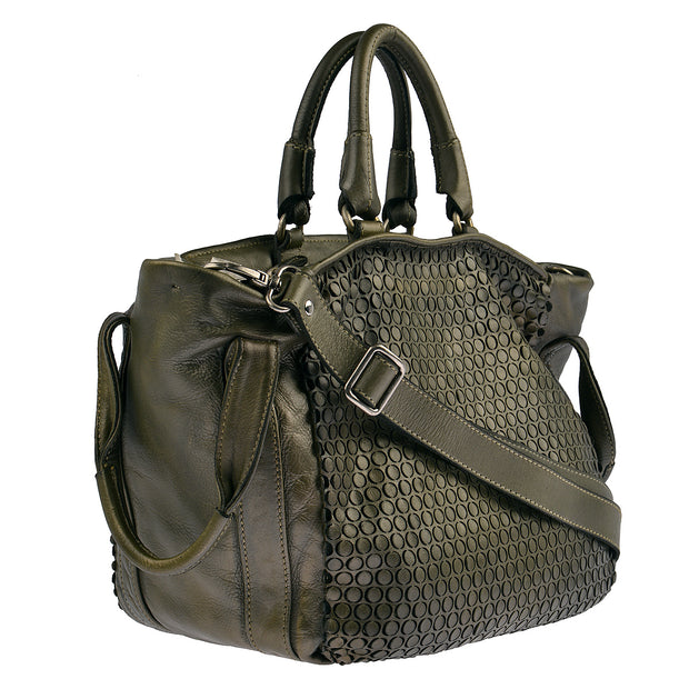 Reptile's House Handtasche MONEGLIA in Alloro 2