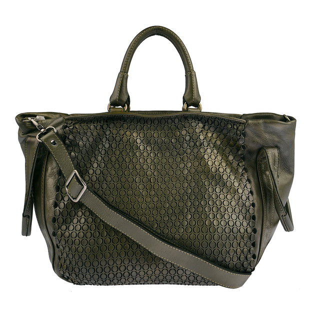 Reptile's House Handtasche MONEGLIA in Alloro