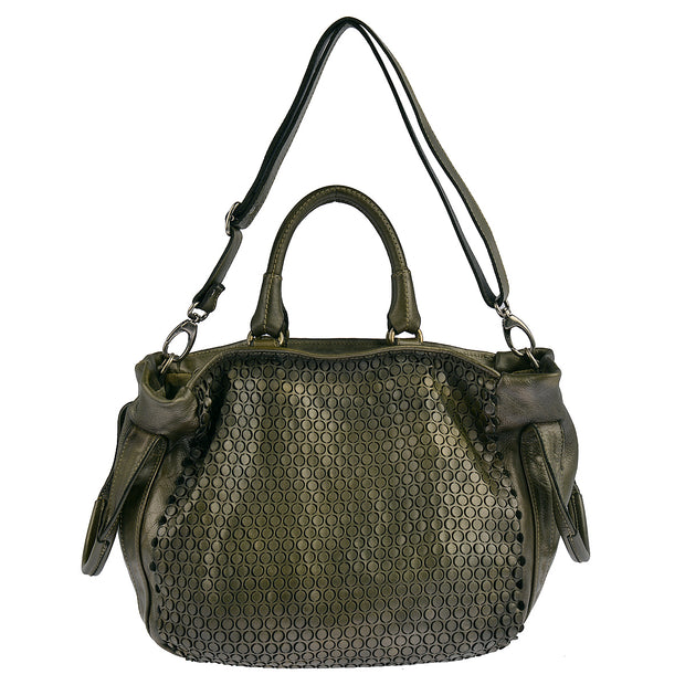 Reptile's House Handtasche MONEGLIA in Alloro 6