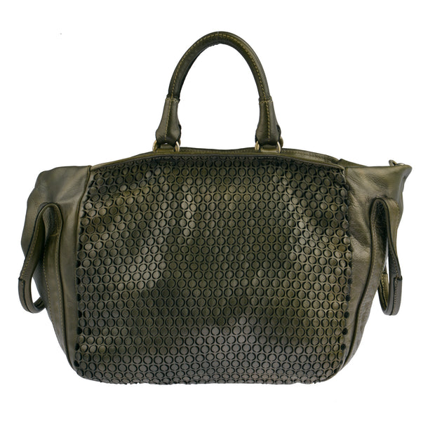 Reptile's House Handtasche MONEGLIA in Alloro 7