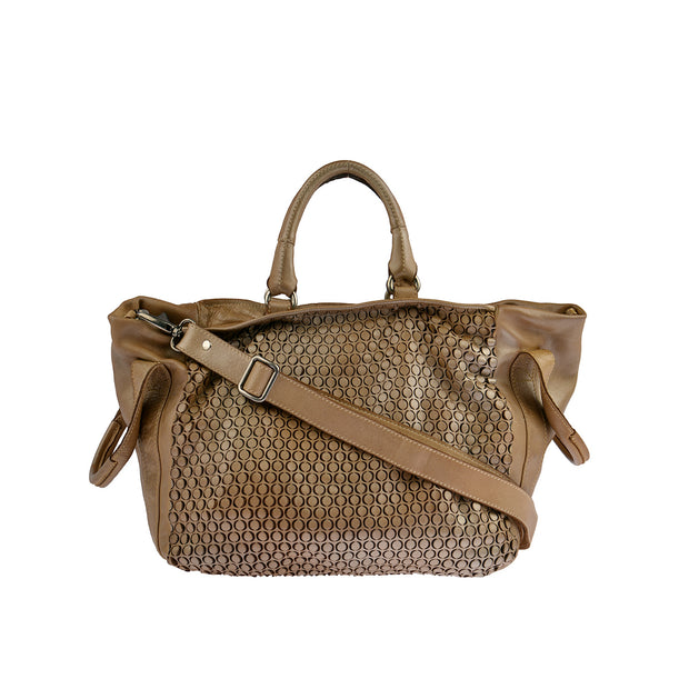 Reptile's House Handtasche MONEGLIA in Honey 1