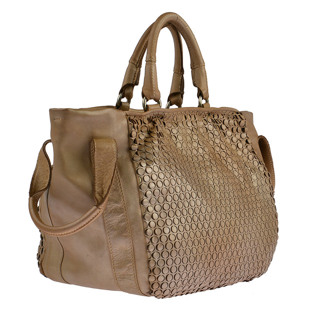 Reptile's House Handtasche MONEGLIA in Honey 2