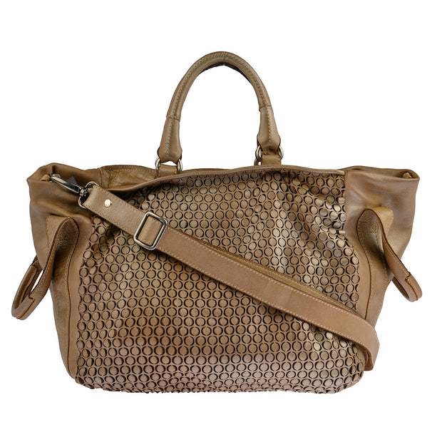 Reptile's House Handtasche MONEGLIA in Honey 3