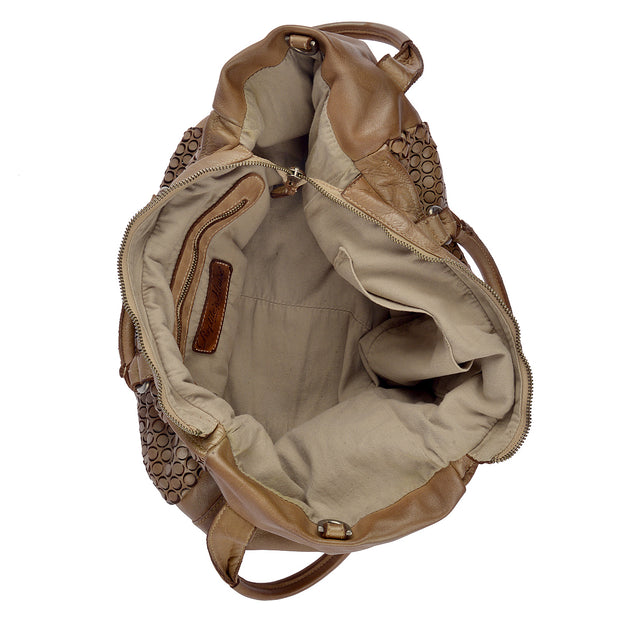 Reptile's House Handtasche MONEGLIA in Honey