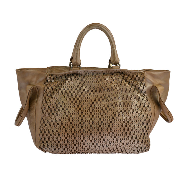 Reptile's House Handtasche MONEGLIA in Honey 7
