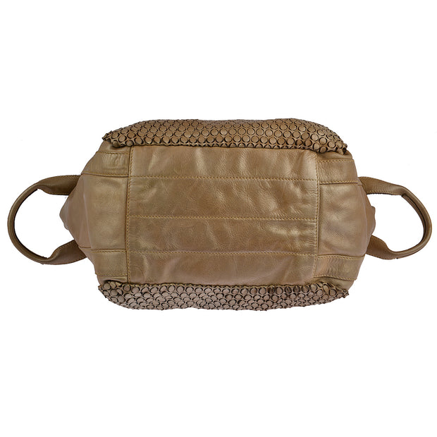 Reptile's House Handtasche MONEGLIA in Honey 9