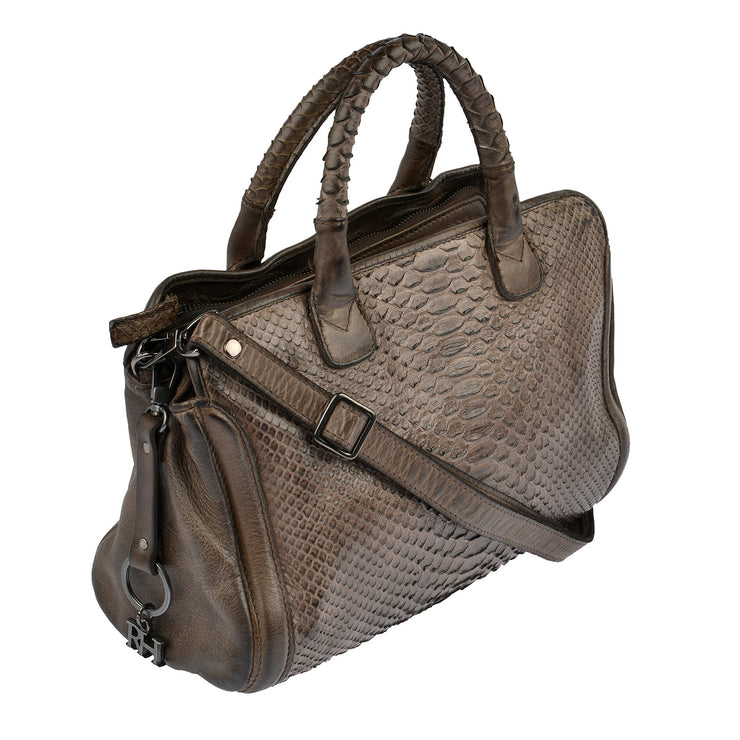 Reptile's House Handtasche Infinito in Braun 2