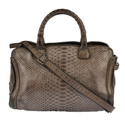 Reptile's House Handtasche Infinito in Braun 3