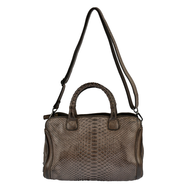 Reptile's House Handtasche Infinito in Braun 6