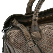 Reptile's House Handtasche Infinito in Braun 8