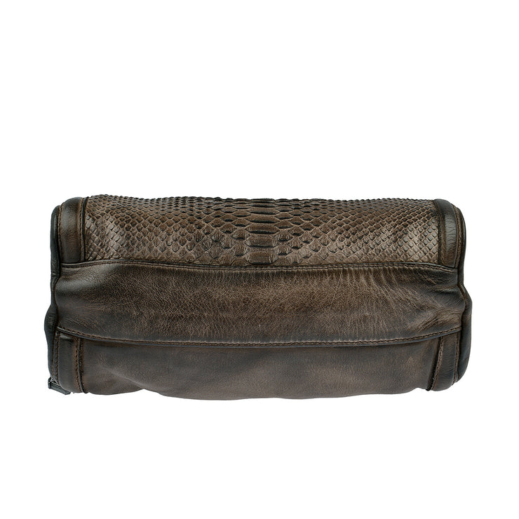 Reptile's House Handtasche Infinito in Braun 9