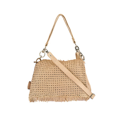 Reptile´s House Umhängetasche BORSA Medium in Beige 1