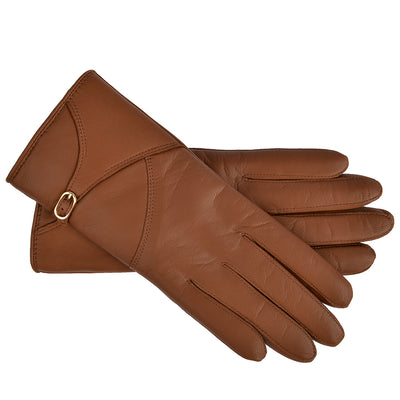 Roeckl Handschuhe Saddle Belt in Cognac 1