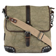SURI FREY Umhängetasche Canvas Flap in Khaki 3
