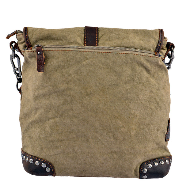 SURI FREY Umhängetasche Canvas Flap in Khaki 7