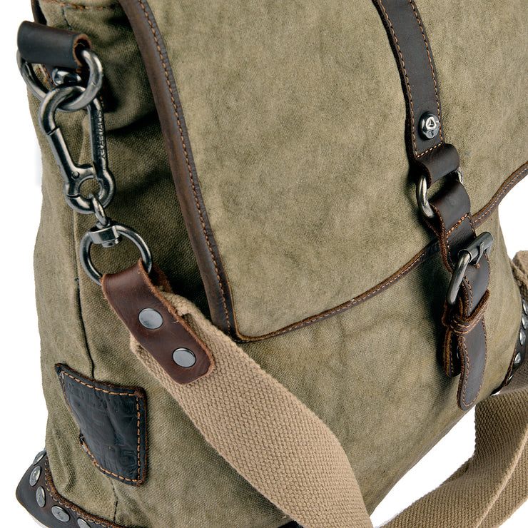 SURI FREY Umhängetasche Canvas Flap in Khaki 8