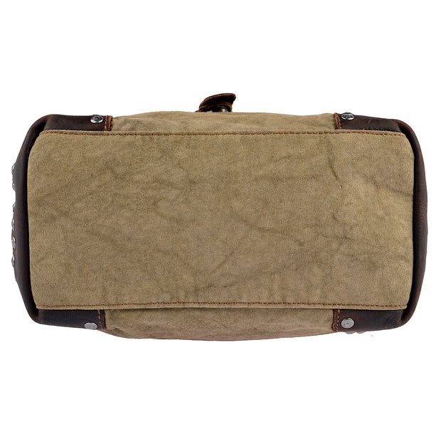SURI FREY Umhängetasche Canvas Flap in Khaki 9