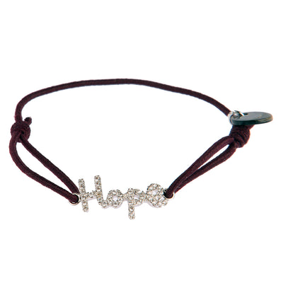 lua accessories Armband Hope in Bordeaux 1