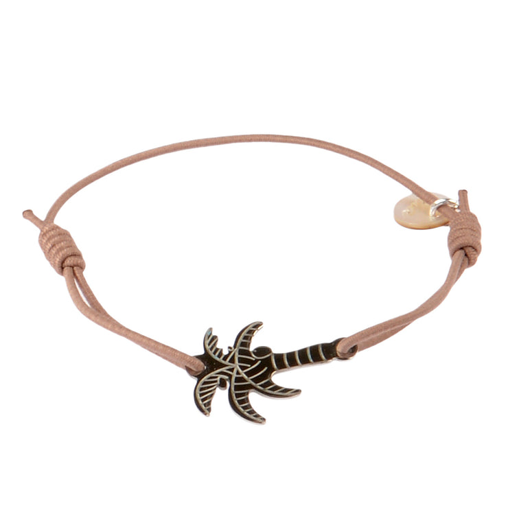 lua accessories Armband Miami in Taupe 1